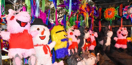 The Piñata is still part of Mexican culture.